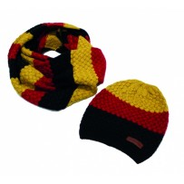 Horseware Sunflower Knitted Hat & Snood Set
