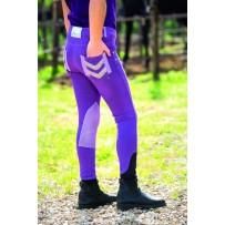 Horseware Kids Denim Breeches purple