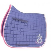 HySPEED Hy Equestrian Saddle Cloth Navy and Pink