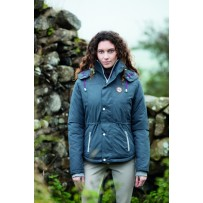 Horseware Ladies Brianna Riding Jacket rock front
