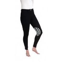 Caldene Derby Low Waist Silicone Knee Ladies Breeches