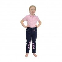 Molly Moo Polo Shirt by Little Rider